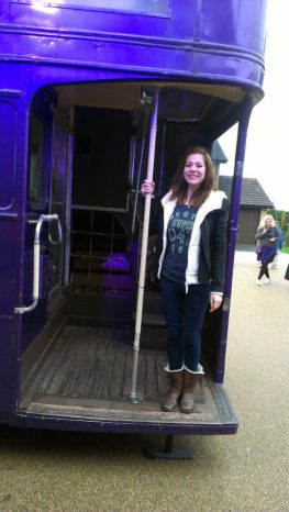 "I went on the harry potter studio tour with a close friend, where the phrase of the day seemed to be ""MIND BLOWN!"""