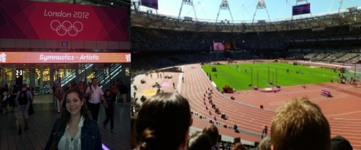 I went to the Olympic games with the lovely boyfriend, and the Paralympics with my mum